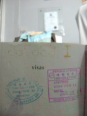 A Hard Earned Korean Visa
