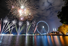 Firework Display in Malaysia