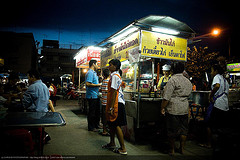 Night Market in Thailand
