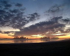 Sunset in Tofino